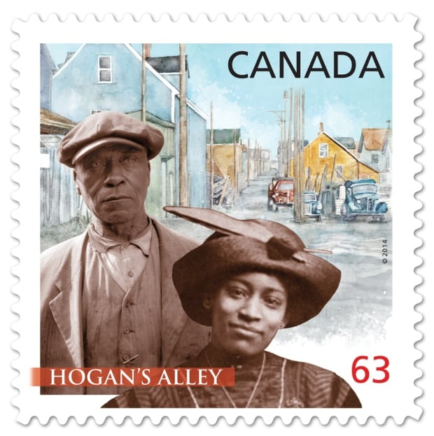 Hogan's Alley Black History Month stamp