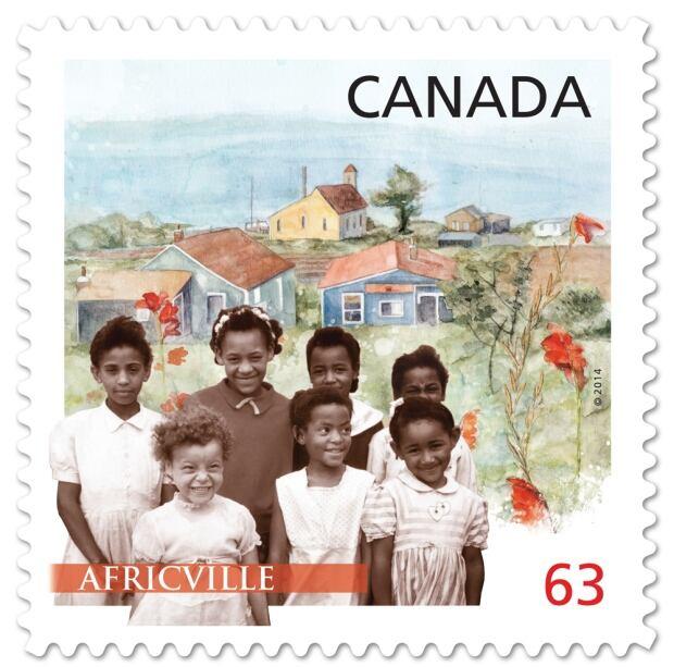 Africville Black History Month stamp