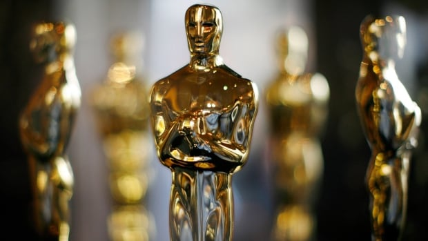 Actual Oscar statuettes to be presented during the 80th Annual Academy Awards sit in a display case in Hollywood February 22, 2008.