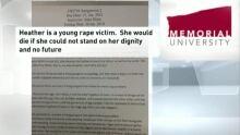 Heather rape victim board