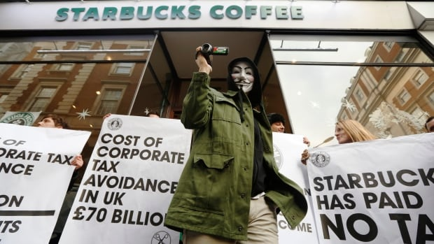 In December 2012, demonstrators led a country-wide protest against Starbucks over the coffee chain's tax-ducking tactics. A Reuters investigation found that through the magic of profit shifting, the company had avoided paying any tax in the U.K. for three years - at a time when ordinary Britains were being asked to accept tough austerity measures.
