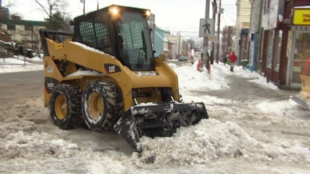 Halifax fielded close to 900 calls reporting property damage by snow-clearing crews in 2014, nearly triple the 303 the city received last winter.