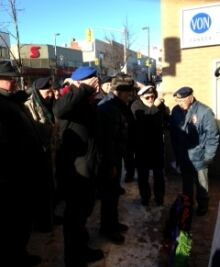 Thunder Bay vet protest
