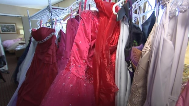 Holy Heart students organized their third annual no-cost Prom Dress Drive in St. John's on Saturday.