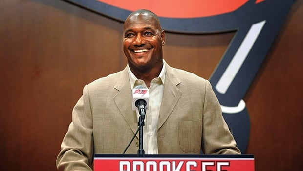 Derrick Brooks was the cornerstone of a Bucs defence that led the league in 2002 and '05, and the NFC five times.