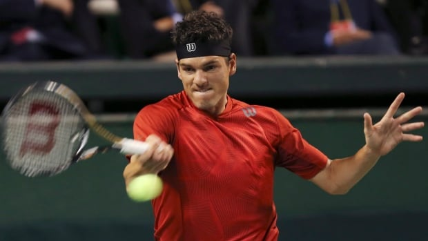 Frank Dancevic , from Niagara Falls, Ont., is ranked 119th in the world.