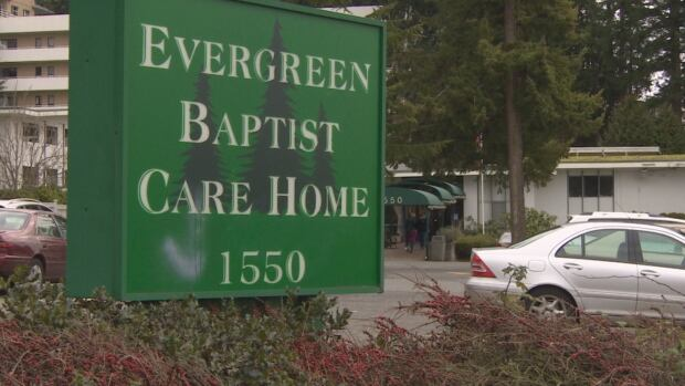 An elderly man with dementia wandered away from Evergreen Baptist Care Home in White Rock Saturday night.