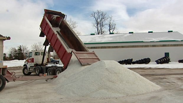 According to the Windsor Port Authority, salt shipments more than quadrupled in January over the same month last year.