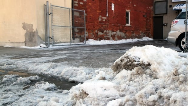 City staff will look into Hamilton's sidewalk construction policy and consider safer designs, following reports that 'California Curbs,' the slant feature built into sidewalks that cut through driveways, creates slipping hazard when covered in ice.