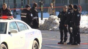 Police at Berri