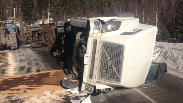 Police say the accident may have been caused by black ice and speed.