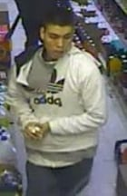 convenience store robbery suspect