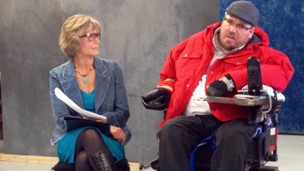 Matthew Proctor shares his battle with schizophrenia with Persephone Theatre actors.