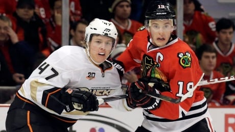 Ducks Blackhawks Hockey