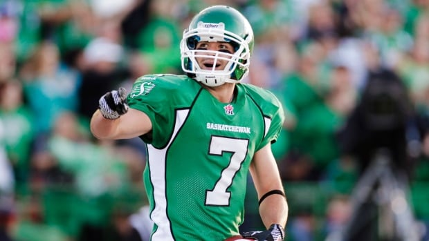 Saskatchewan Roughriders slotback Weston Dressler caught 70 passes for more than 1,000 yards and nine TDs in helping the Roughriders win the Grey Cup.