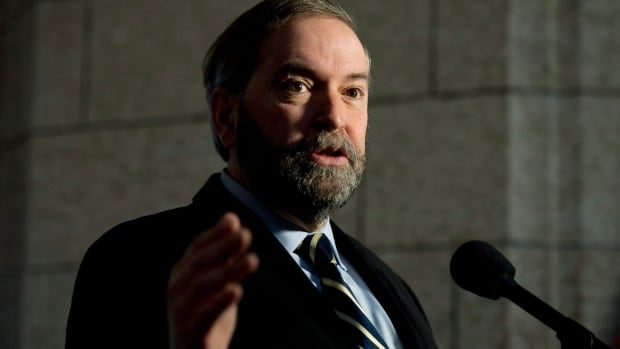 "NDP Leader Tom Mulcair says his party will move to send the government's proposed election law reforms to committee before the first vote in the House of Commons, accusing the Conservatives of being ""serial cheaters"" with ulterior motives."