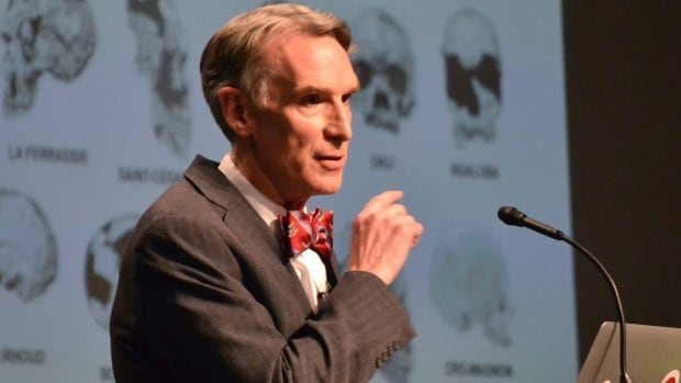 "TV's ""Science Guy"" Bill Nye debated evolution with Creation Museum head Ken Ham on Tuesday. Ham believes the Earth was created 6,000 years ago by God. Nye says he is worried the U.S. will not move forward if creationism is taught to children."