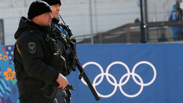 Russian security forces patrol the streets as preparations continue for the 2014 Sochi Winter Olympics. The Winter Games open officially on Friday amid security concerns, although officials say everything possible is being done to make the Games safe.