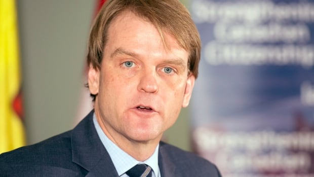 Immigration Minister Chris Alexander was in Richmond Hill on Tuesday where he spoke about Canada's new immigration system which will offer 'express entry' to qualified economic immigrants starting on Jan. 1, 2015.