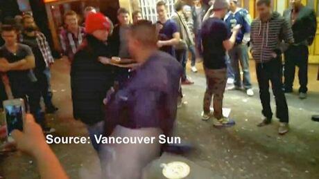 Homeless groin kicks for money posted in online video