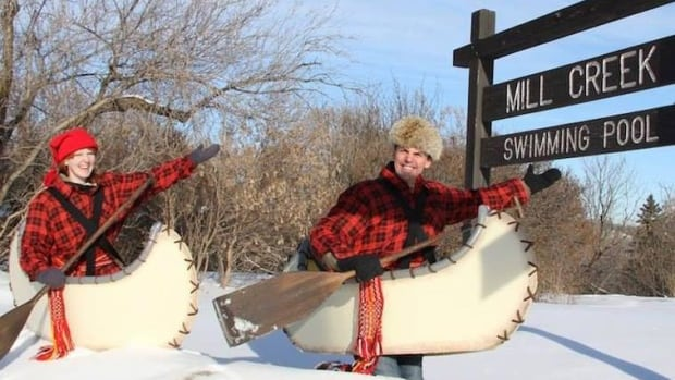 Get onboard with the Flying Canoe Adventure - an entertaining and educational trip through Edmonton's Mill Creek Ravine.