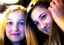 Beatrice and Medora Godin