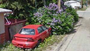 Unplated cars in Regina