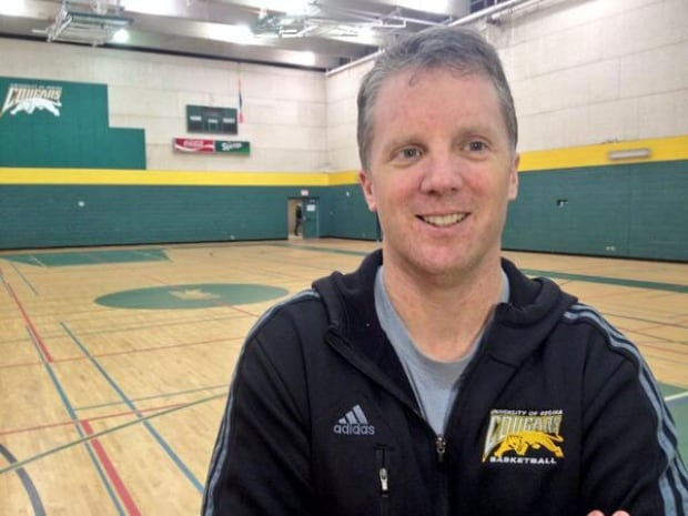 U of R basketball coach Dave Taylor