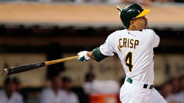 Athletics centre-fielder Coco Crisp has agreed to a new contract through 2016 that adds $22.75 million US in guaranteed money after he hit a career-high 22 home runs from the leadoff spot last season.