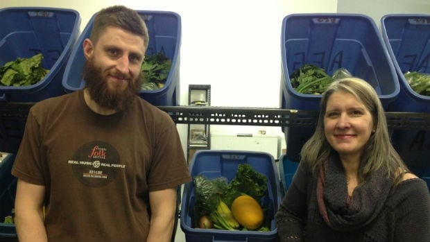 Chris Galipeault (employee) and owner Marnie Feeleus own Fresh Option Organic Delivery.