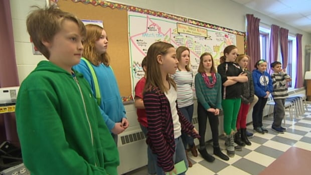 Though they may be It's an unlikely group of advisors, Grade 6 and Grade 7 students at Berwick and District School spent time brainstorming what they knew about Lawrence and ways they can make a difference in their community.