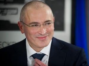Russia activists Mikhail Khodorovsky