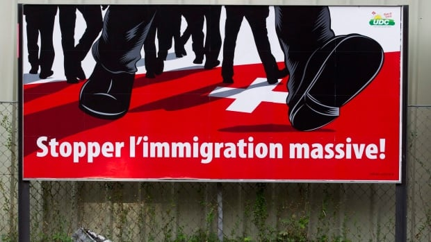 About 80,000 immigrants enter Switzerland every year. It has a population of 8.1 million.