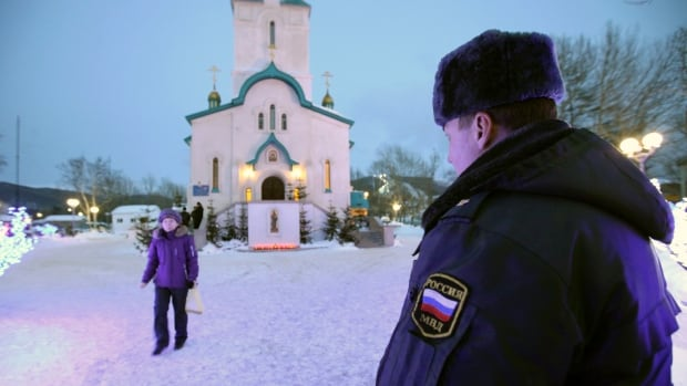 A man who worked as a security guard at the Cathedral of the Resurrection of Christ in Yuzhno-Sakhalinsk was arrested after the shooting.