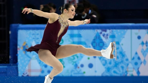 Kaetlyn Osmond scored 110.73 in the women's long program in the team skate portion at the Sochi 2014 Olympic Winter Games.