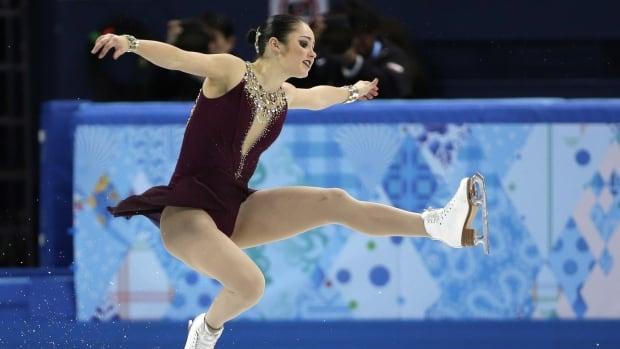 Kaetlyn Osmond scored 110.73 in the women's long program in the team skate portion at the Sochi 2014 Olympic Winter Games.