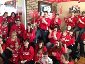Kaetlyn Osmond's family, friends Mount Pearl