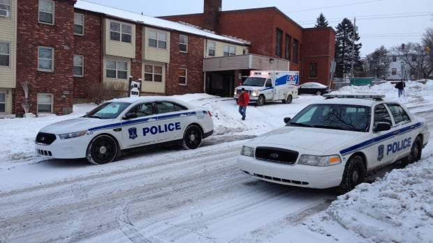 Halifax Regional Police were called to Leppert Street in Halifax on Monday morning.