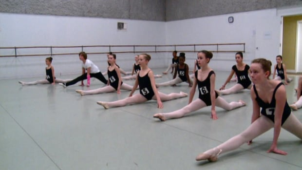 Aspiring ballet dancers tried out for a chance to join Alberta Ballet's dance school on the weekend.