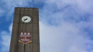 Memorial University tower CBC