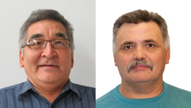 Rankin Inlet South byelection candidates Lorne Kusugak and Alexander Sammurtok are running again after a tie in the October elections.