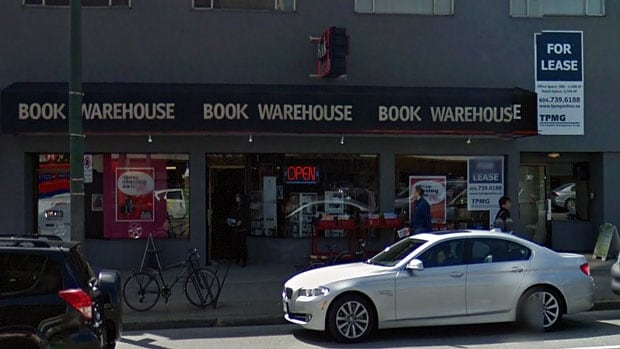Black Bond Books purchased its flagship store on West Broadway a few years ago, shortly after four Book Warehouses were forced to close their doors.