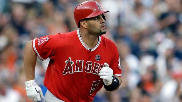 Albert Pujols played for the Cardinals from 2001-11 before signing a 10-year, $240 million US deal with the Los Angeles Angels.