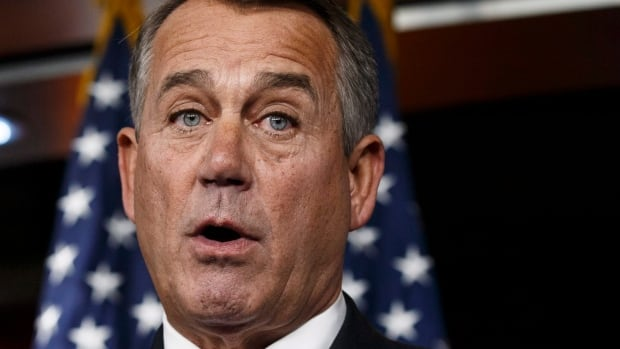 House Speaker John Boehner said of Barack Obama 'We'll let his party give him the debt ceiling increase that he wants.'