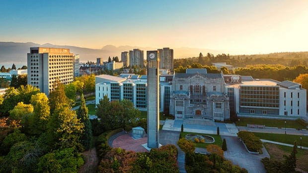 UBC faculty members are meeting today at the Vancouver campus, pictured, and Okanagan campus to discuss and vote on a motion of no confidence in the university's board of governors.