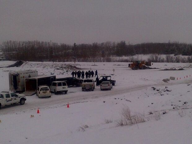 RCMP search landfill