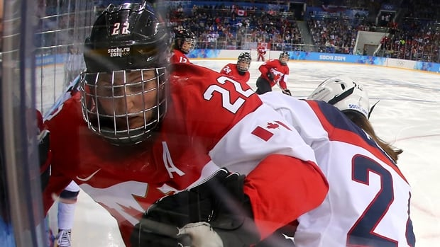 Hayley Wickenheiser says she's a candidate for a coaching job when she stops playing. The 37-year-old plans to compete in a sixth Winter Olympics in 2018.