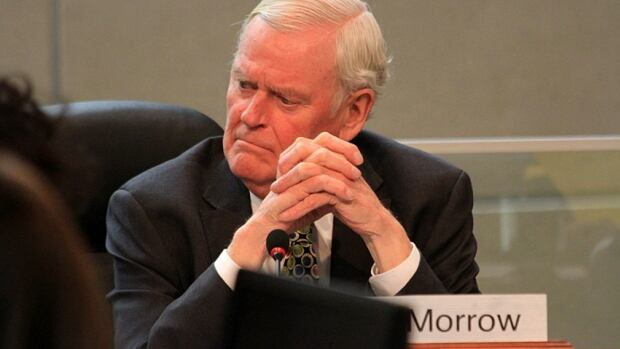 Former mayor Bob Morrow has served his first council meeting as a Ward 3 councillor on Wednesday. Morrow will serve until the municipal election in October.