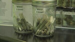 medical marijuana joints