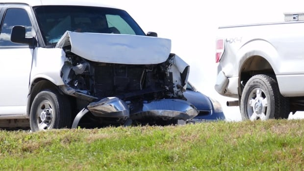 Four vehicles were involved in a crash at Lagimodiere and Regent on Thursday.